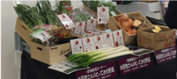 東京流通センター 国産野菜の契約取引マッチング・ フェア in 東京に参加しました