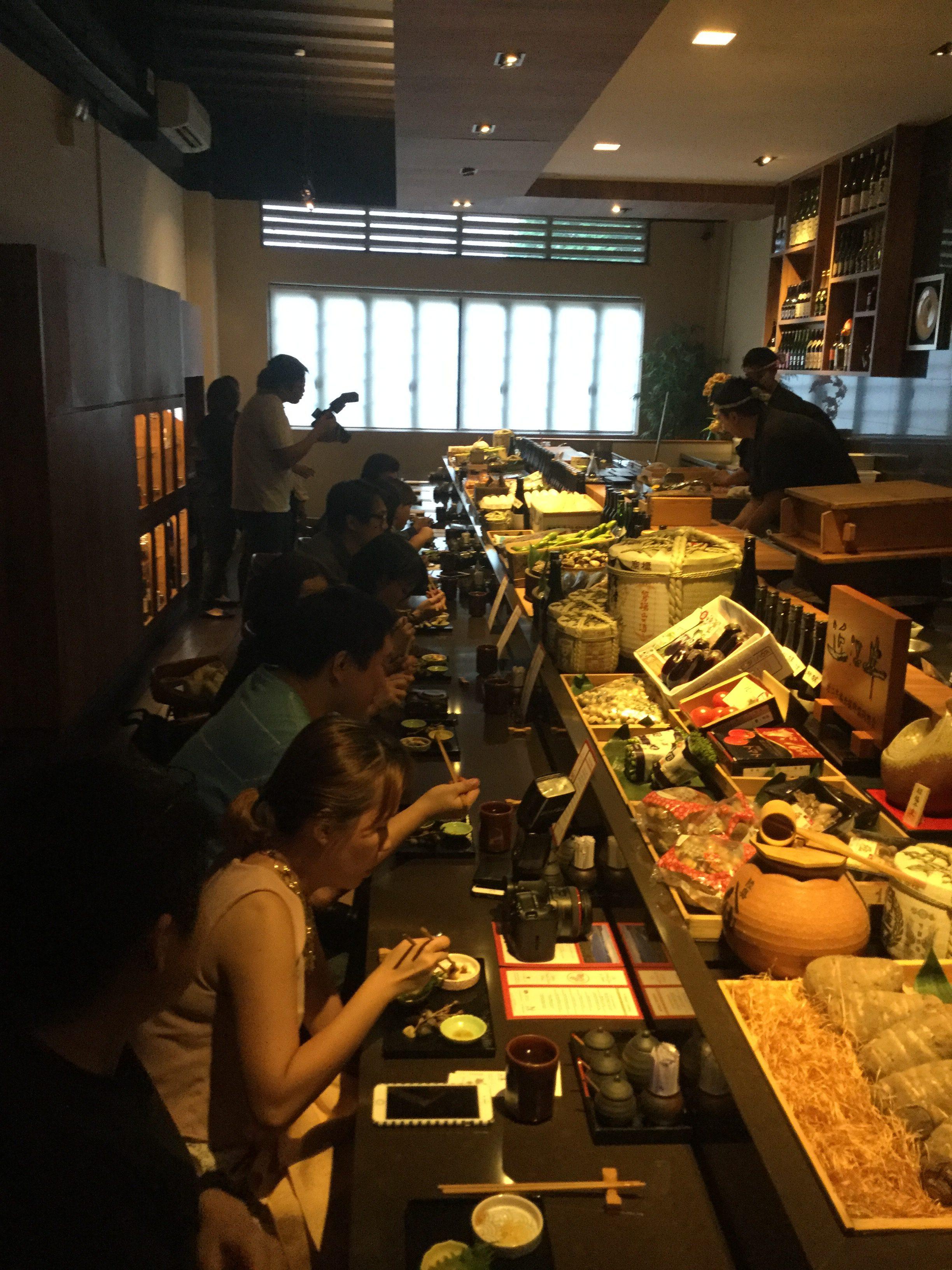 レストランフェアinシンガポール
